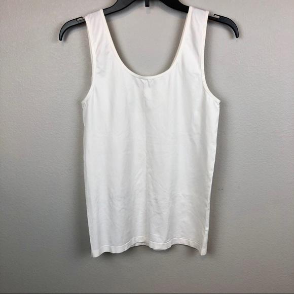 Legacy Intimates Amp Sleepwear White Slim Disguise Tank